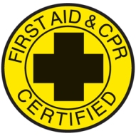 First Aid & CPR Certified